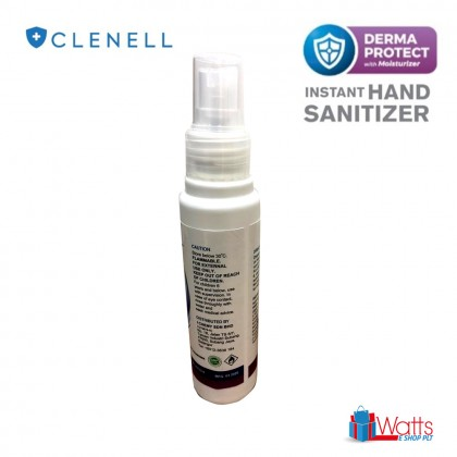 Clenell Instant Hand Sanitizer 70% Alcohol Spray 100ml