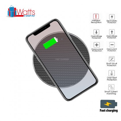 Wireless Charger 10W Qi for iPhone and Android Phones