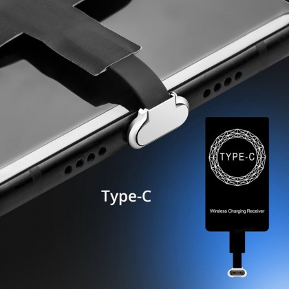 Wireless Qi Charger Receiver Pad For IPhone 5 6 6s 7 and Android Phones