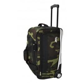 Slazenger SZ1115 Rolling Duffle Bag with Trolley 22-inch Camouflage