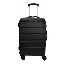 Slazenger SZ2528 ABS Expandable Spinner Hardcase Luggage 24-inch Black