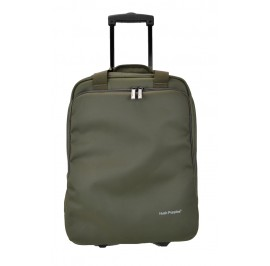 Hush Puppies 693307 Document Bag with Trolley 16.5-inch Khaki