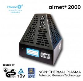 Plasma-O2 Airnet 2000 Non-Thermal Plasma Air and Surface Sterilisation