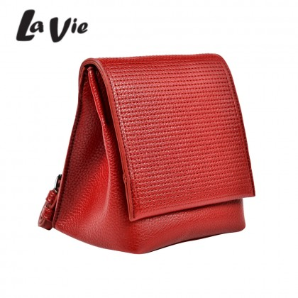 La Vie Kylia Crossbody Bag with Magnetic Fastening Front Foldover