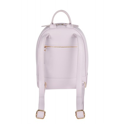 La Vie Liz Mini Backpack with Angled Zip Pockets