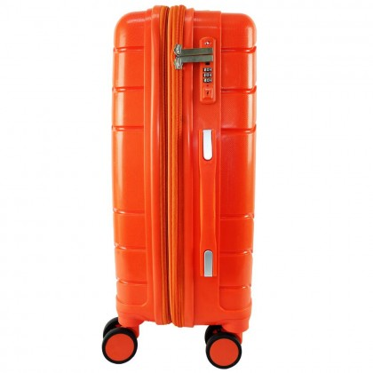 Giordano GA9866 20-inch PP Unbreakable Expandable Hardcase Luggage with Security Zipper