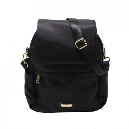 DAZZ On the Go Switch 5-Way Backpack Crossbody Tote Bag with Security Lock