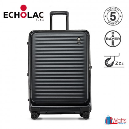 Echolac Celestra PC183F 20-inch PC Spinner Case Double Zipper Luggage