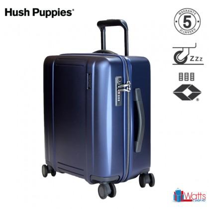 Hush Puppies PC 28-inch 694022 Double-Zipper Hardcase Luggage with TSA Lock and Silent Hinomoto Wheels