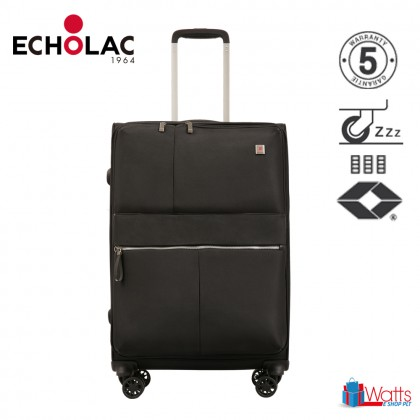 Echolac Hydra CT714A 28-inch Softcase Spinner Case Double Zipper Luggage