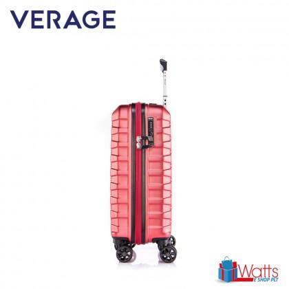 Verage Crust Unbreakable Expandable 19-inch Double-Zipper Hardcase Luggage GM17106W