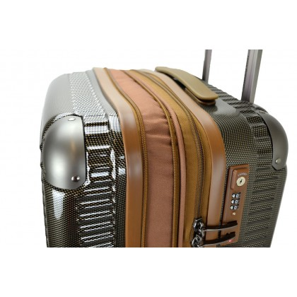 Hush Puppies 694021 29-inch ABS PC Expandable Hardcase Luggage Double Zipper