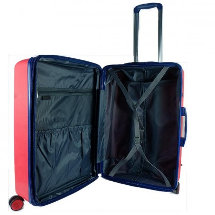Giordano GA1902 24-inch PP Unbreakable Expandable Hardcase Luggage with Security Zipper